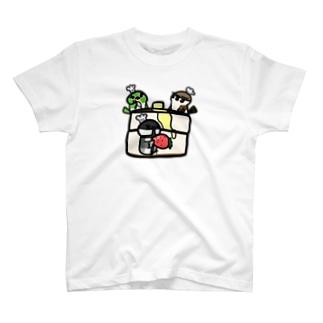 ホットケーキ作り T-shirts