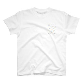 カラフルおまめ T-shirts