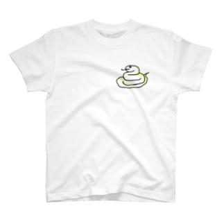 しろへびさん T-shirts