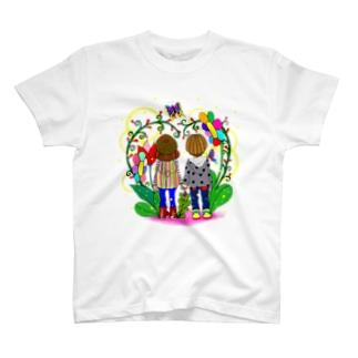 少女♡少年 T-shirts
