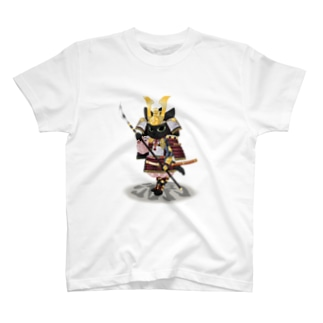 源平戯画 : 佐藤継信 T-shirts
