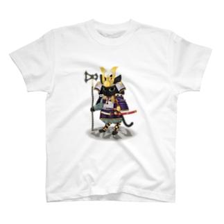 源平戯画 : 佐藤忠信 T-shirts