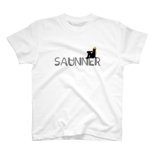 サウナで泣くOLのSAUNNER_ORANGE T-shirts