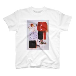 解体美(大きめプリント) T-shirts