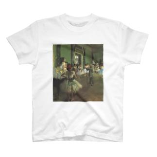 ダンス教室 / エドガー・ドガ T-shirts