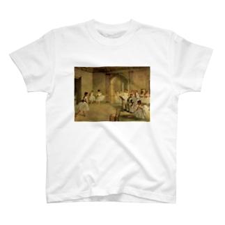 オペラ座の稽古場 / エドガー・ドガ T-shirts
