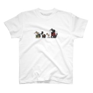 ぼーっとアニマルズ T-shirts