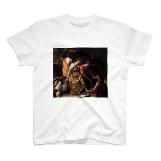 ディアナとニンフたち / ヨハネス・フェルメール T-shirts