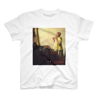 真珠のネックレスをもつ少女 / ヨハネス・フェルメール T-shirts