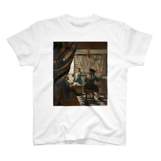 絵画芸術 / ヨハネス・フェルメール T-shirts