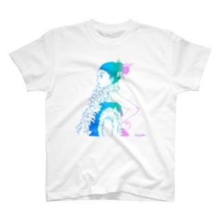 E Hula Mai / グラデーションTシャツ T-shirts