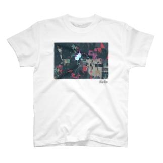 クロロの見返り美人T(ホワイト) T-shirts