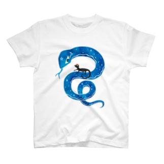 マジカルスネークとトマトカゲ T-shirts