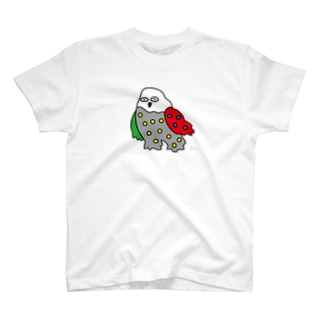 シロフクロウ (大きめ) T-shirts