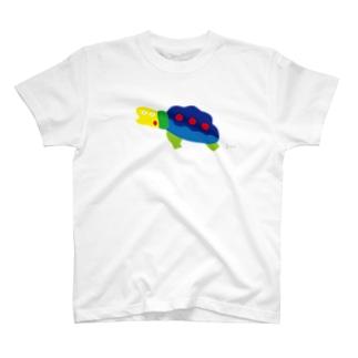にせんちめんたるのカメ (大きめ) T-shirts