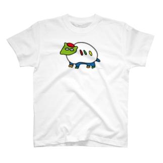 にせんちめんたるのアルマジロ (大きめ) T-shirts