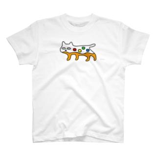 にせんちめんたるのネコ (大きめ) T-shirts