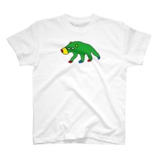 にせんちめんたるのグマ (大きめ) T-shirts