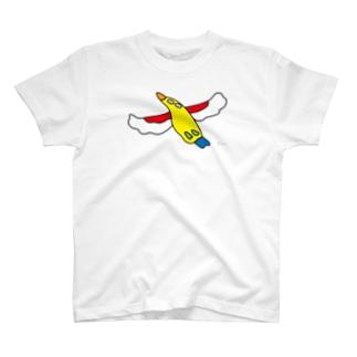 にせんちめんたるのタカ (大きめ) T-shirts