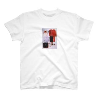 解体美(小さめプリント) T-shirts
