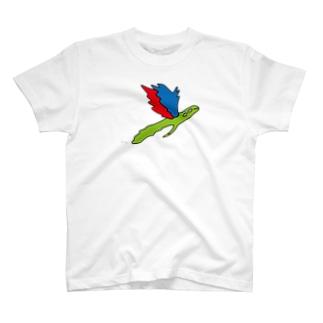 トベルカナリクス (大きめ) T-shirts