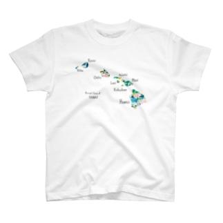 ハワイアイランド T-shirts