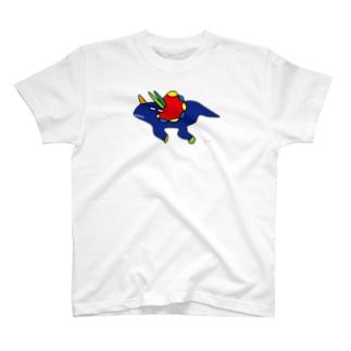 アタマオハナトプス (大きめ) T-shirts