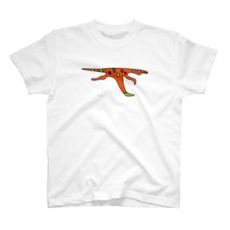 シノビアシプトル (大きめ) T-shirts