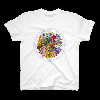 Atsumiのリンネの花時計 T-shirts