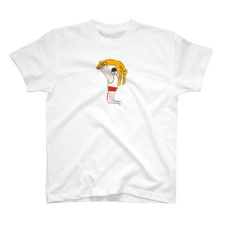 ねことあそぶ君 T-shirts