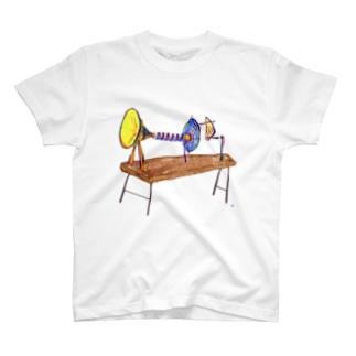 音で時を刻む装置 T-shirts