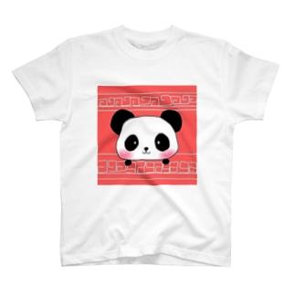 大熊猫 T-shirts