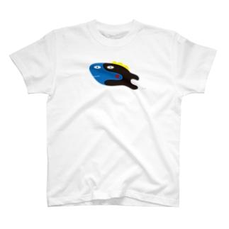 ハギ (大きめ) T-shirts