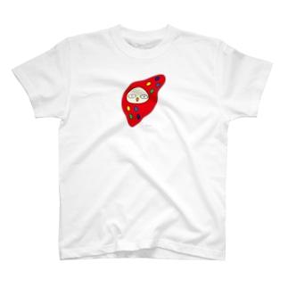 フクロウ (大きめ) T-shirts