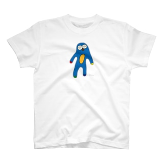 アオナマケ (大きめ) T-shirts