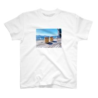 海とプリン T-shirts