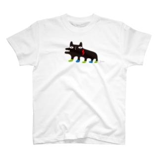 クロウマ (大きめ) T-shirts