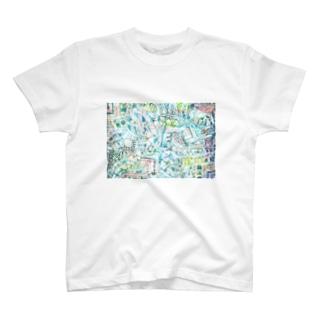 ガチャガチャポップ2 T-shirts