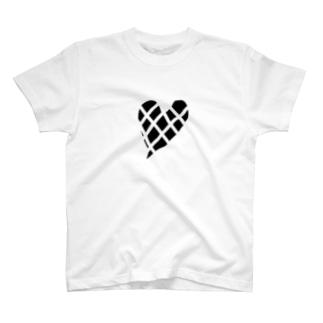 ブロックハート T-shirts