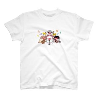 ぶんちょ組 バンド T-shirts