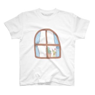 オカメインコ / みてる…!! T-shirts