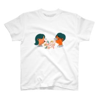 サイトウアケミのナポリタン・ラブ T-shirts