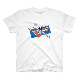 おさかなゼリーのナポリタンにして T-shirts