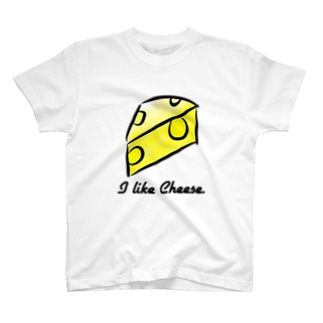 I like cheese. T-shirts