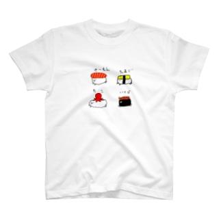 おしゅし T-shirts