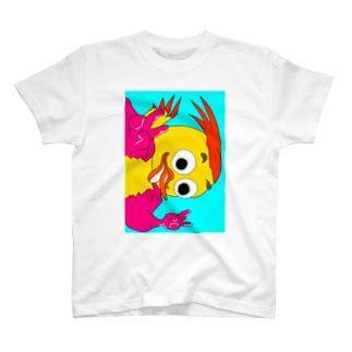 tororomuseumの二番鳥(縦) T-shirts