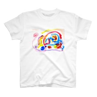 息子くんイラスト T-shirts