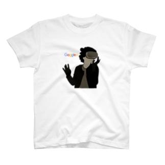 ゴーグルガール T-shirts