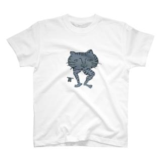 冬虫夏草洋品店猫トラ T-shirts