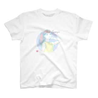 色づきポニテ! T-Shirt